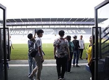 """Architecture 3rd Year Students Explore Chang Arena, Buriram Province"""