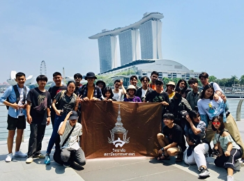 """Study Tour of Architectural Design Students in Southeast Asia Countries - Singapore"""
