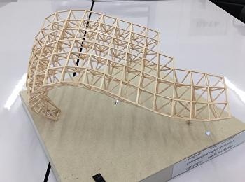 นักศึกษาชั้นปีที่ 3 สาขาวิชาสถาปัตยกรรม กับรายวิชาการก่อสร้างและวัสดุในงานสถาปัตยกรรม
