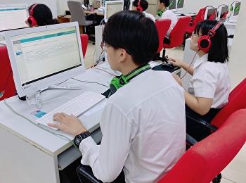 นักศึกษาวิทยาลัยสถาปัตยกรรมศาสตร์ เข้าสอบวัดระดับภาษาอังกฤษมาตรฐาน CEFR