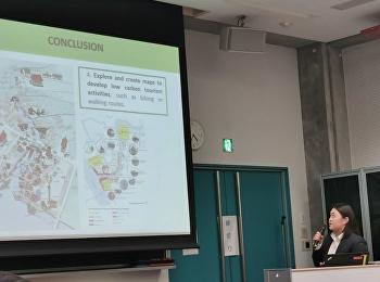 อาจารย์ประจำสาขาวิชาสถาปัตยกรรม วิทยาลัยสถาปัตยกรรมศาสตร์ เข้าร่วมนำเสนอผลงานวิจัย ในการประชุมวิชาการระดับนานาชาติ