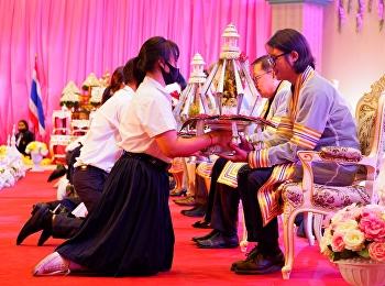 พิธีไหว้ครู ประจำปีการศึกษา 2563 มหาวิทยาลัยราชภัฏสวนสุนันทา